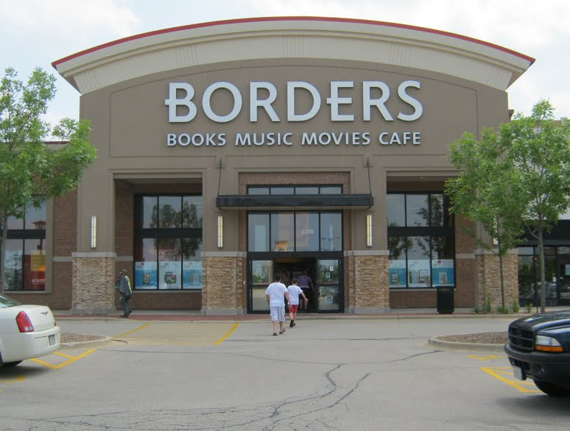 Borders Books Store Closing Sale The Borders Book Store in