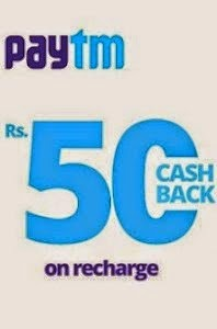 Free Rs 50 Cashback on Rs 200 Recharges & Bill Payments – PayTm