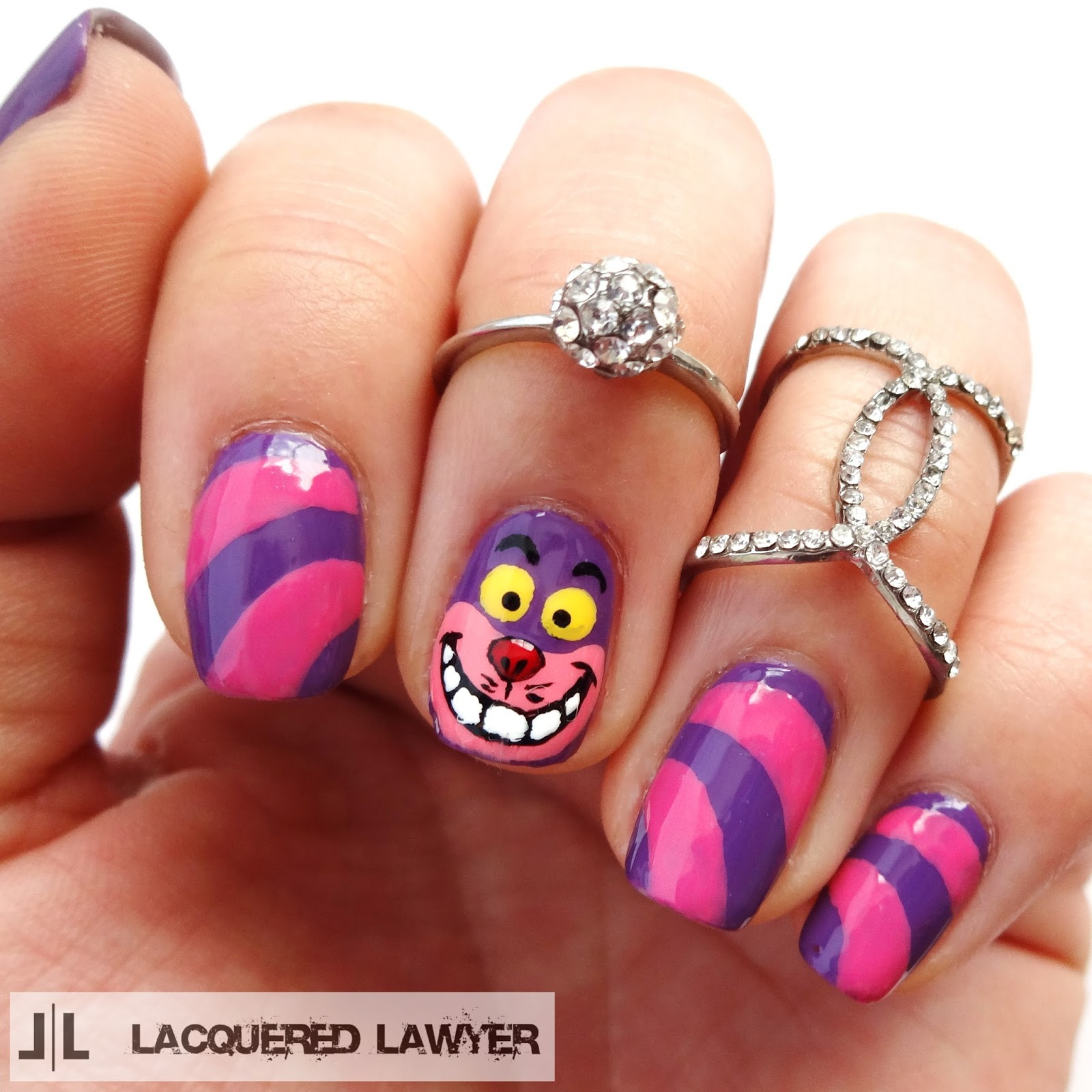 Cheshire Cat Nails