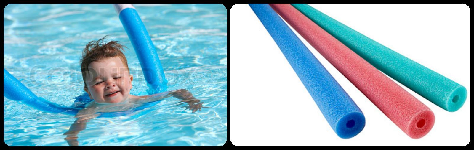 M s alla del rosa o azul for Clases de piscina para bebes