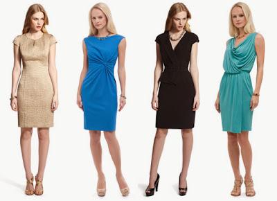 The Anne Klein Dresses