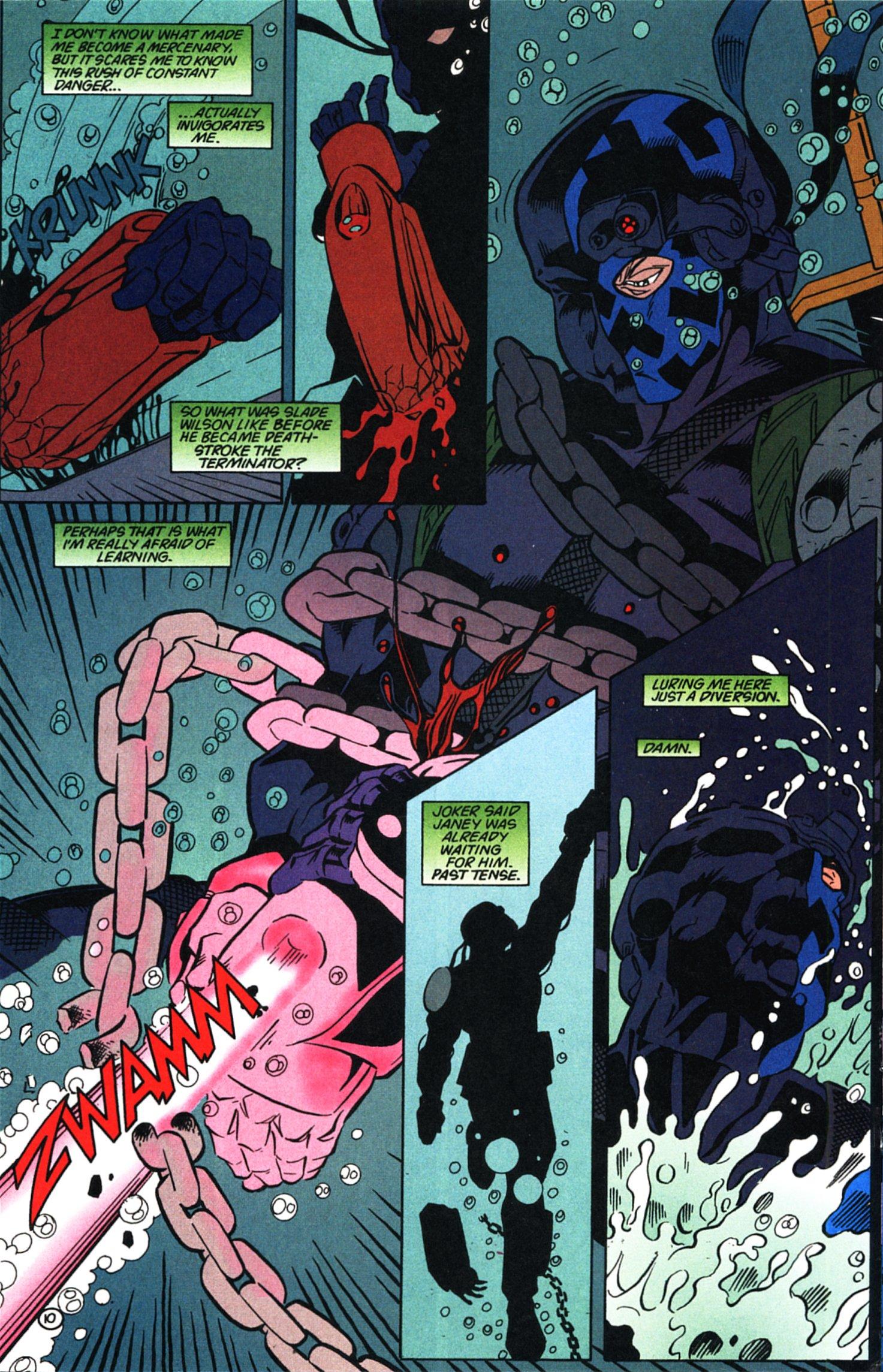 Deathstroke (1991) Issue #58 #63 - English 11