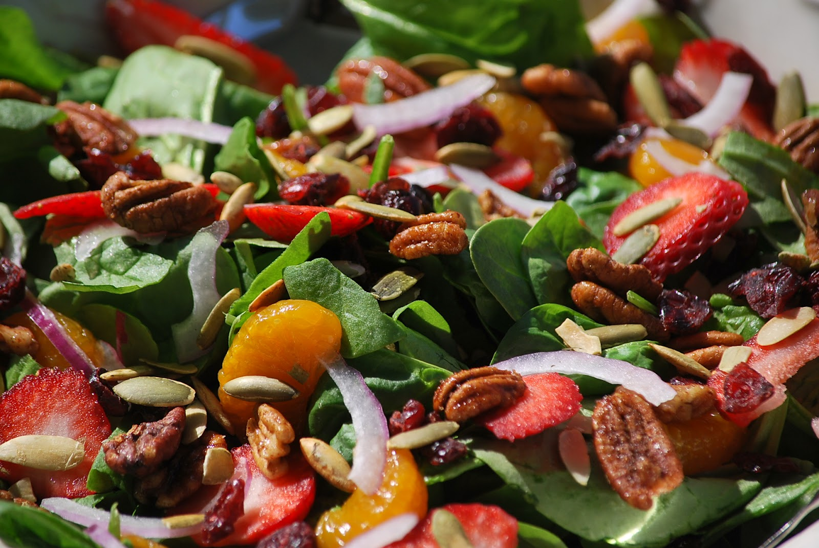 Forum on this topic: Citrus, Turkey, and Spinach Salad, citrus-turkey-and-spinach-salad/