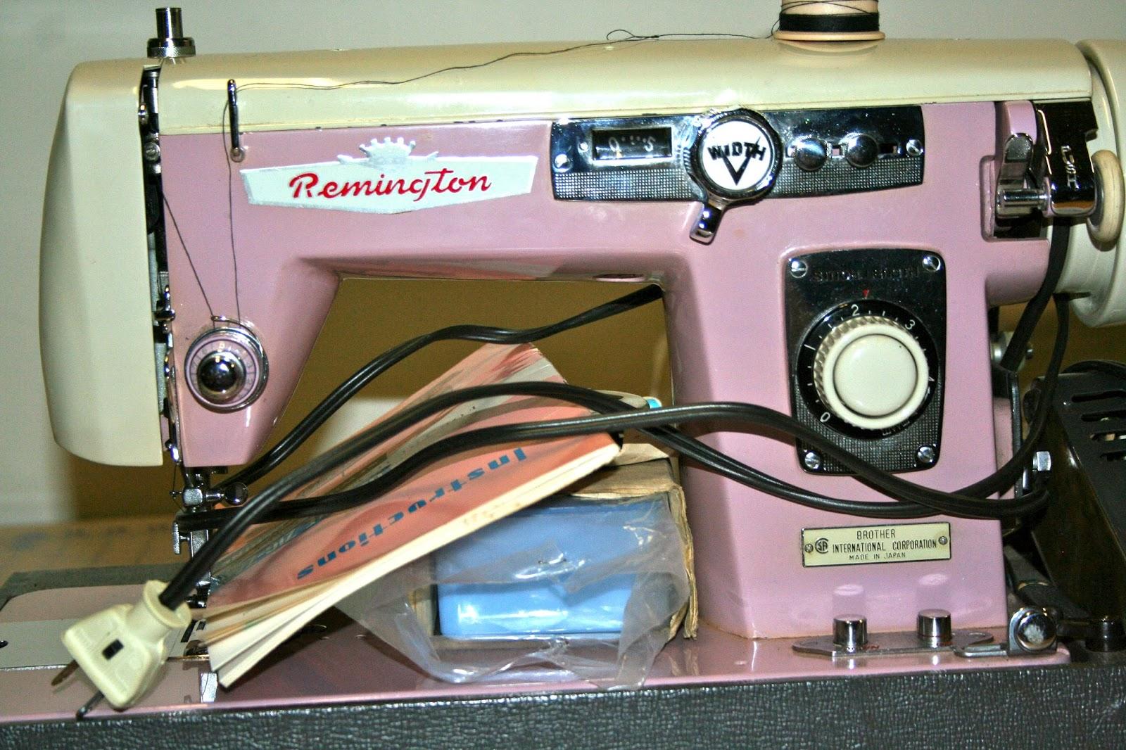 remington sewing machine manual