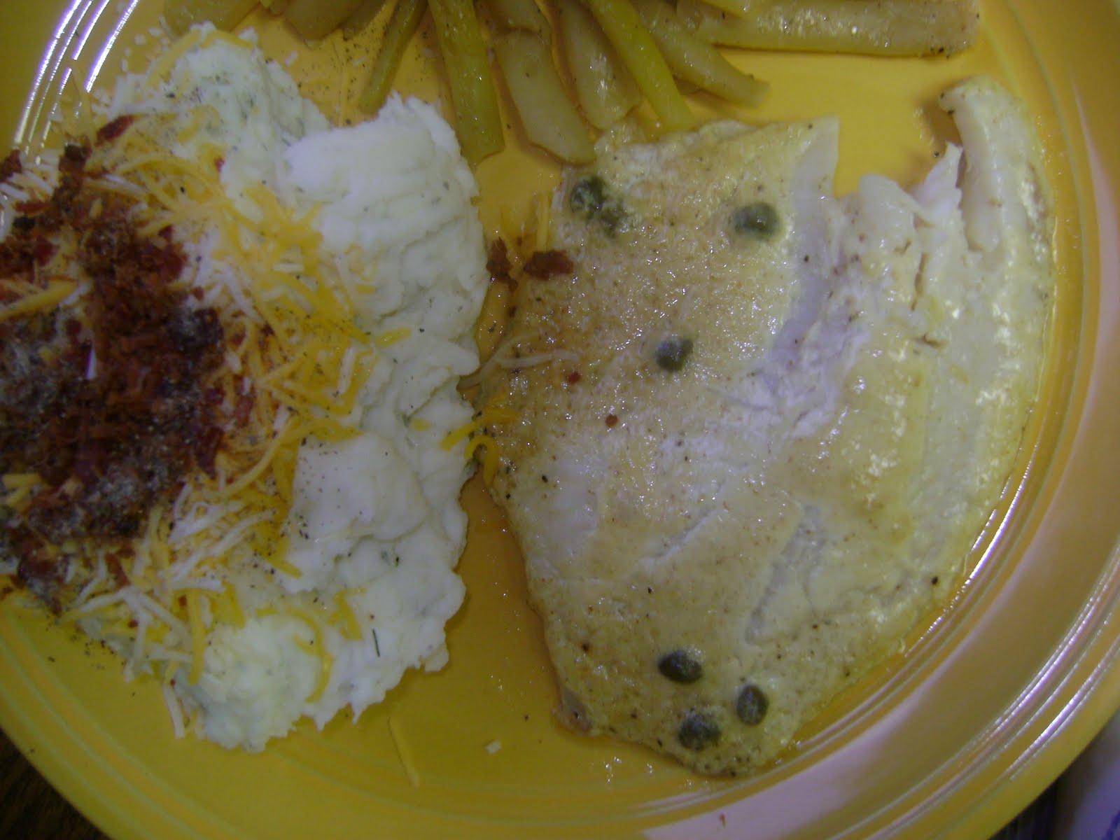 Stuffing my fat fatty face mustard coated fish for Ina garten mustard fish