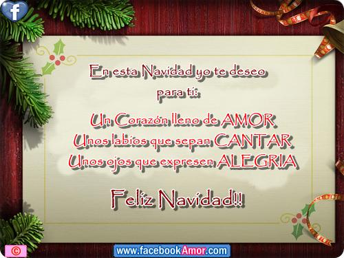 Tarjetas con frases bonitas de navidad im genes bonitas - Bonitas tarjetas de navidad ...