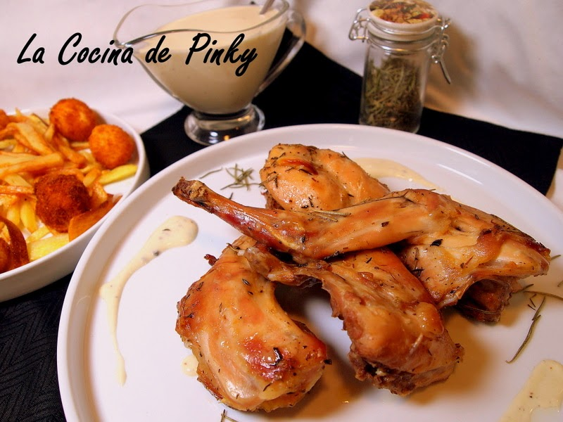 CONEJO ASADO CON QUESO GORGONZOLA  Conejo+asado+con+salsa+gorgonzola1