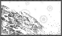 pixel art, macpaint, old school, B/W, computer art, UNTITLED 6