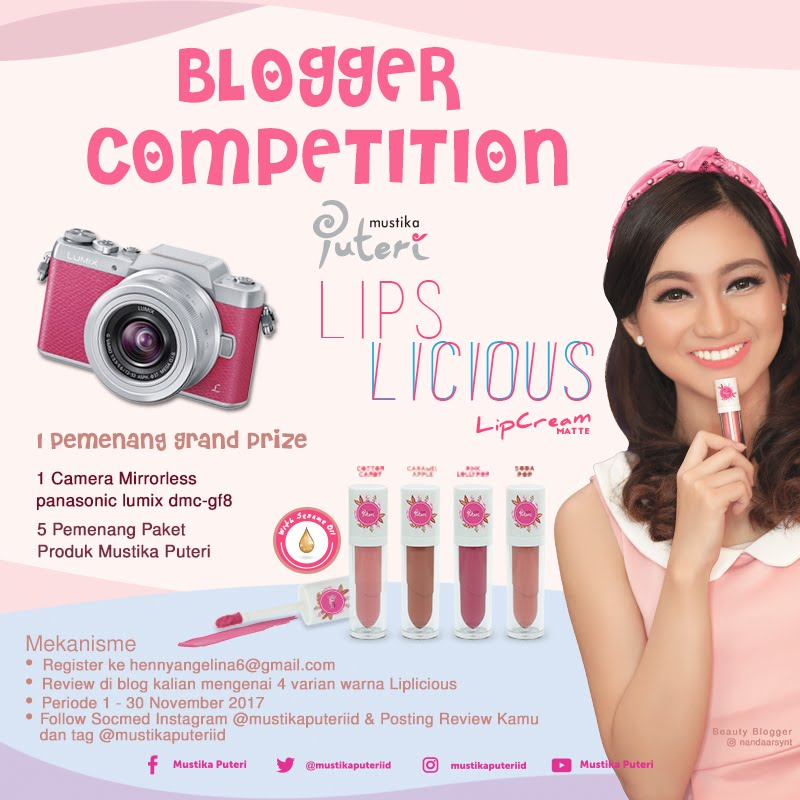 Mustika Puteri Blogger's Competition