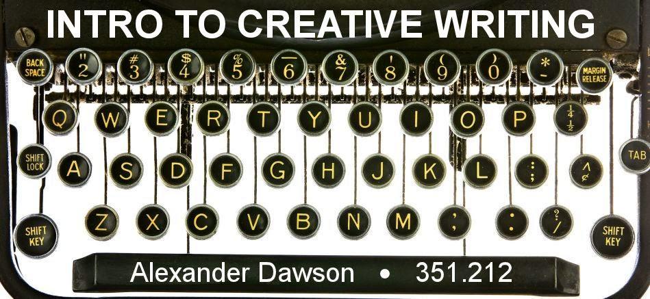 INTRO TO CREATIVE WRITING RU