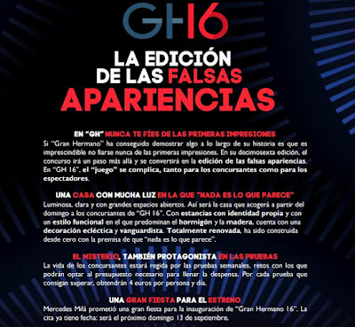 Sorpresas de GH 16