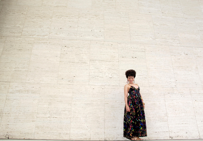 oonaballoona | a sewing blog | linen rayon summer maxi dress | mood fabrics
