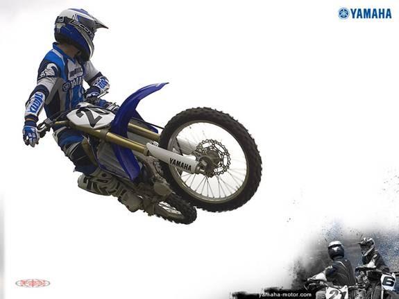 Foto- Foto Motor Cross Yamaha Saat Beraksi   BOPLO