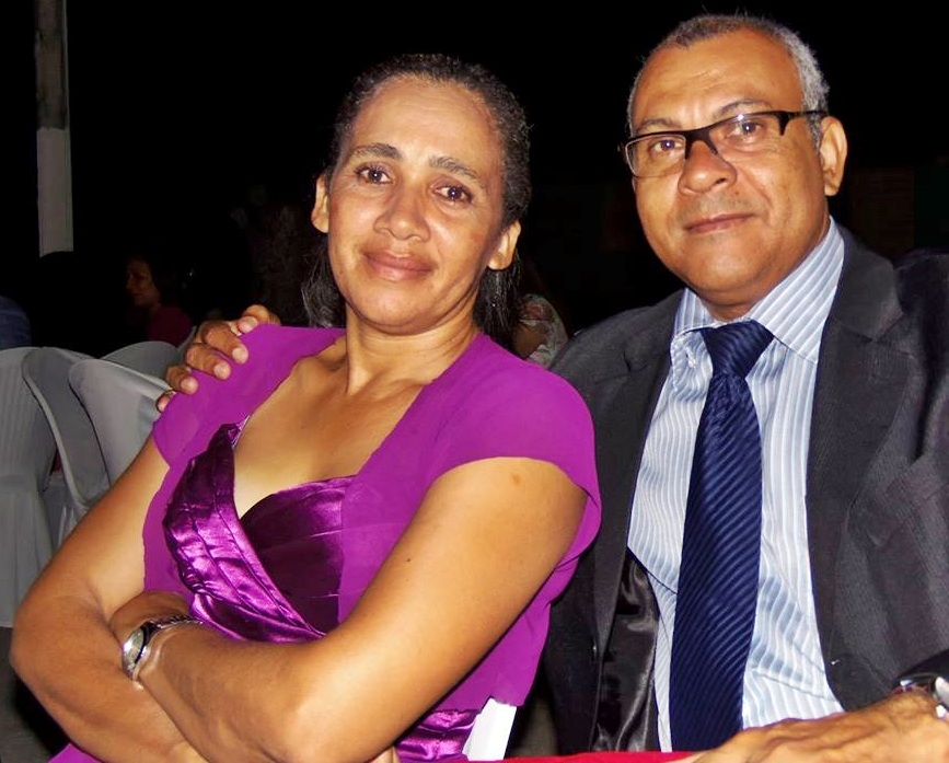 Missionários: Pr. Robson Laurentino e Tereza