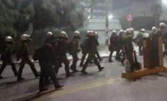 Εισβολή των ΜΑΤ στο ΑΠΘ. 11 συλλήψεις... (video)