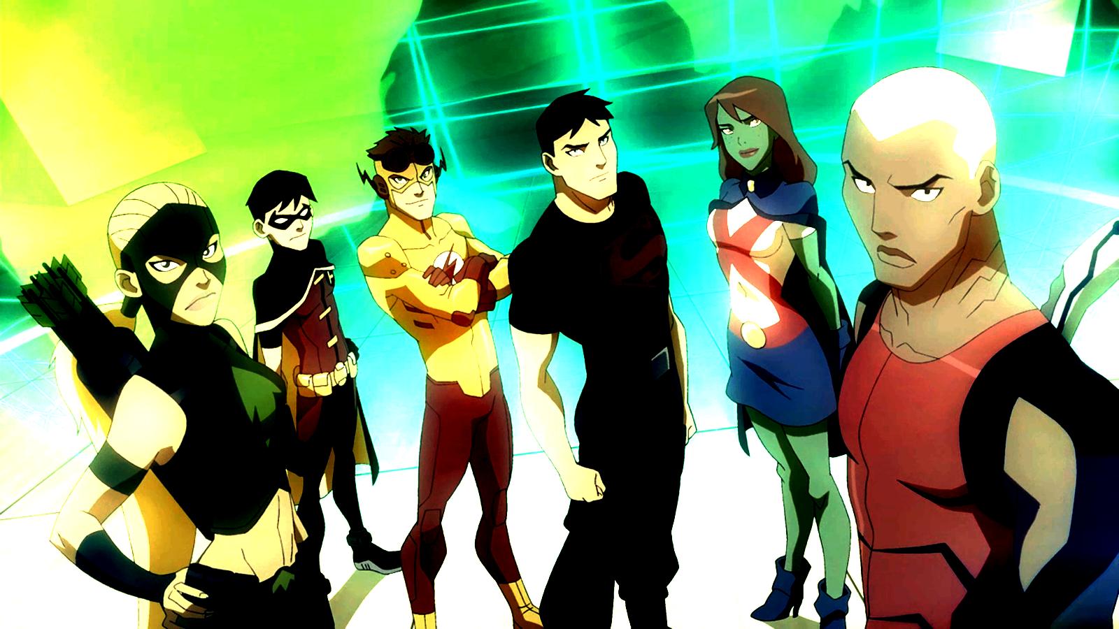 Justice League Unlimited Wallpaper Coolest