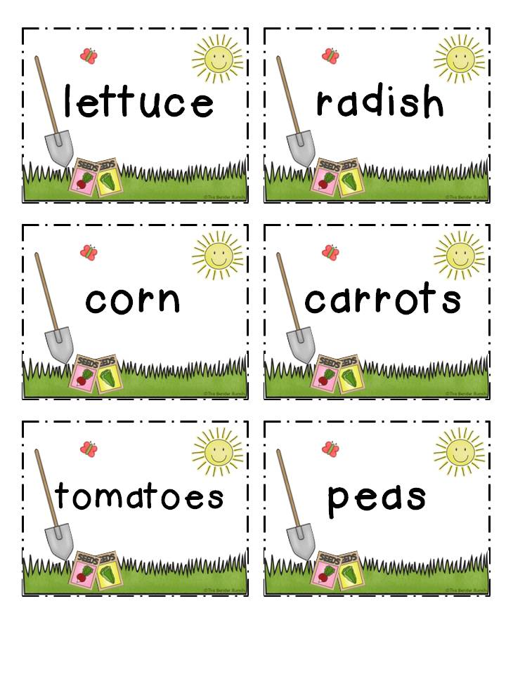 Slobbery image for printable plant labels