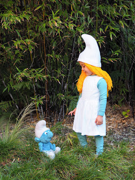DIY Smurf Costume