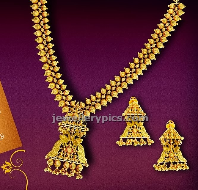 traditional gold haram jewellery