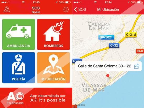 CONSEJOS - Primera App gratuita para llamar a teléfonos de emergencia