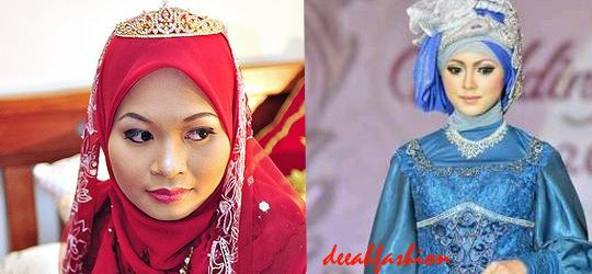 Jilbab Wedding Inspirasi Jilbab Untuk Pernikahan
