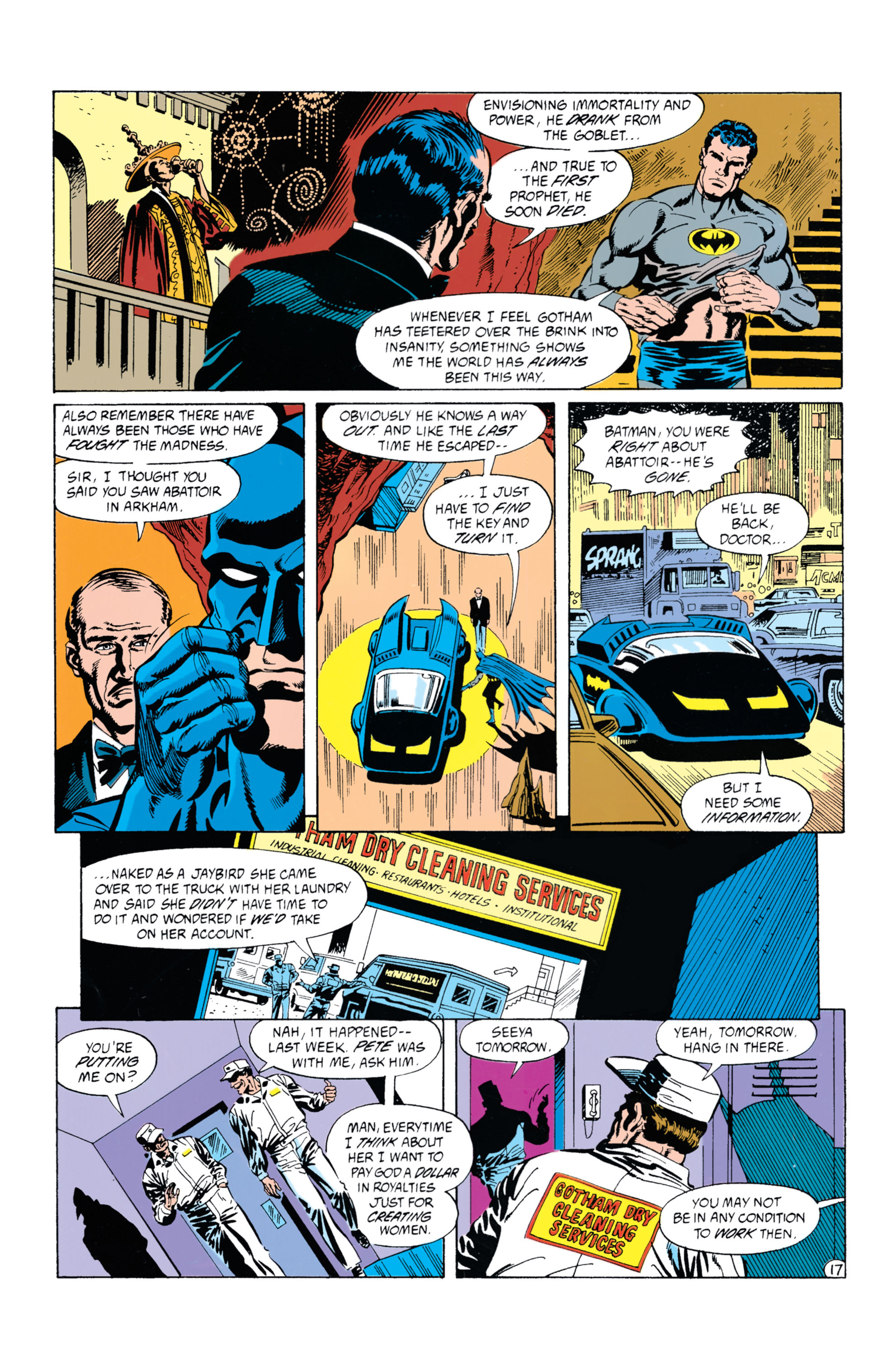 Detective Comics (1937) Issue #628 Page 18