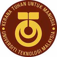 Jawatan Kerja Kosong Universiti Teknologi Malaysia (UTM) logo www.ohjob.info