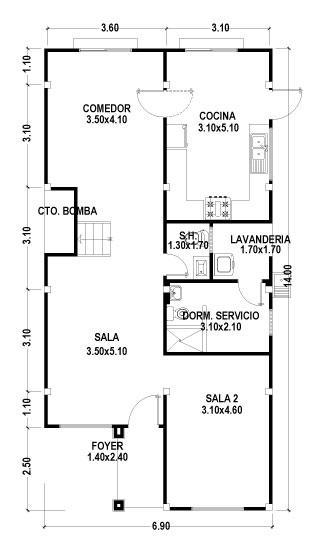Inst hidraulicas sanitarias y de gas instalaciones for Que es un plano arquitectonico