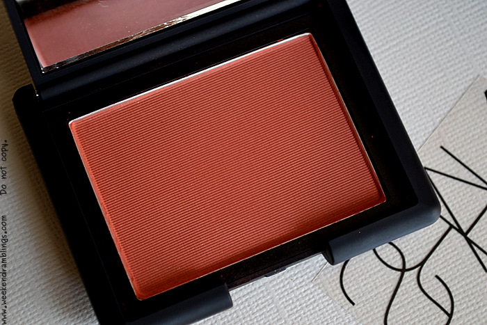 NARS Liberté Blush Summer Makeup 2012 Reviews Swatches Beauty Blog Looks FOTD Ingredients