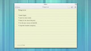 GNOME Bijiben note-taking app