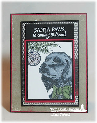 Stamps - North Coast Creations Santa Paws