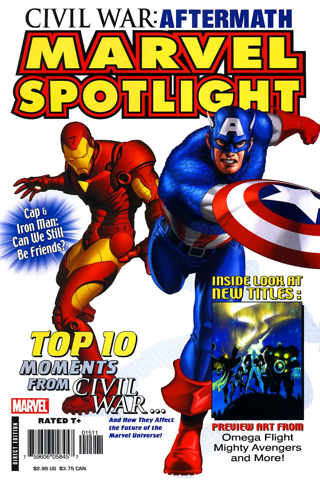 Read online Marvel Spotlight: Civil War Aftermath comic -  Issue # Full - 1