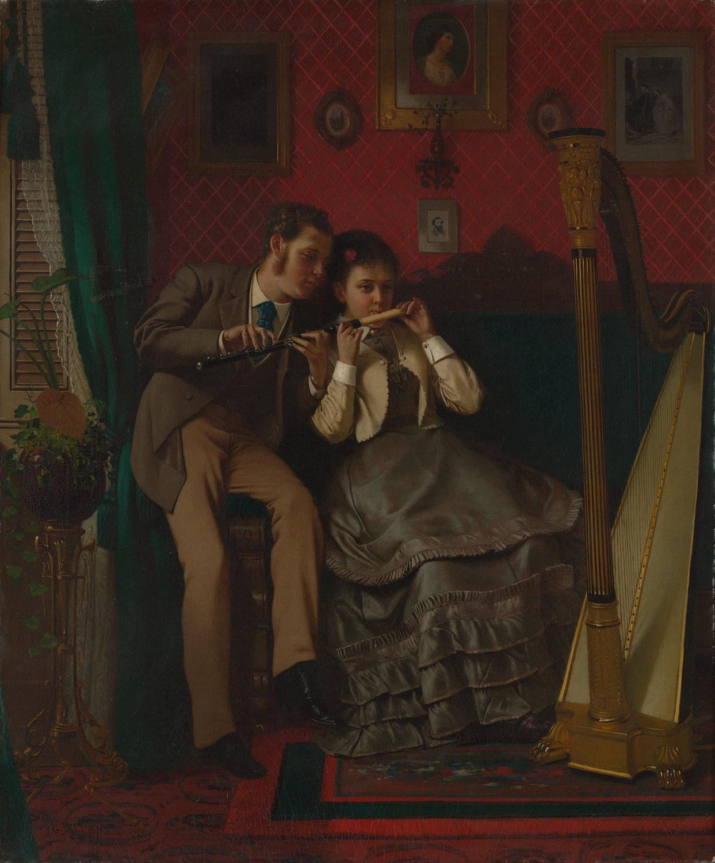 A flauta e a harpa