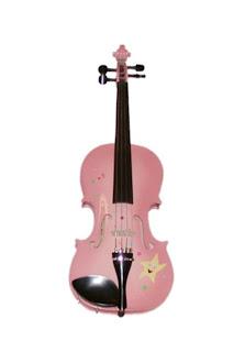 Pink Twinkle Star Violin