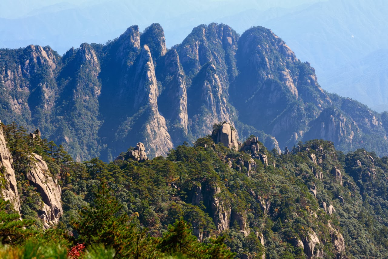 Fire At Will: HUANGSHAN(YELLOW MOUNTAINS). CHINA.