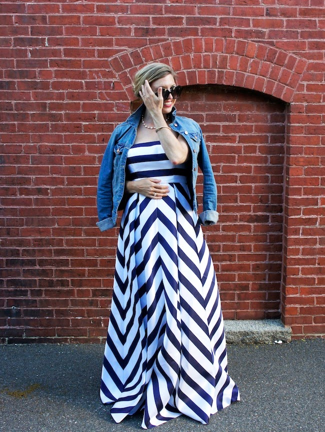 Jessica Simpson chevron dress; what to wear to a wedding, what to wear to a formal wedding, boston fashion blogger, boston fashion blog
