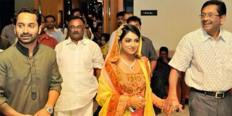Actress Nazriya and Fahadh Engagement Photos