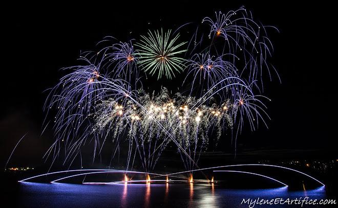 2016 - Fête du Lac Des Nations - Ouverture - Royal Pyrotechnie