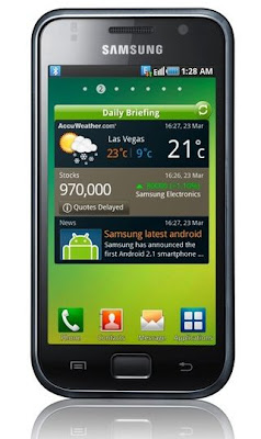 samsung galaxy s I9000 display