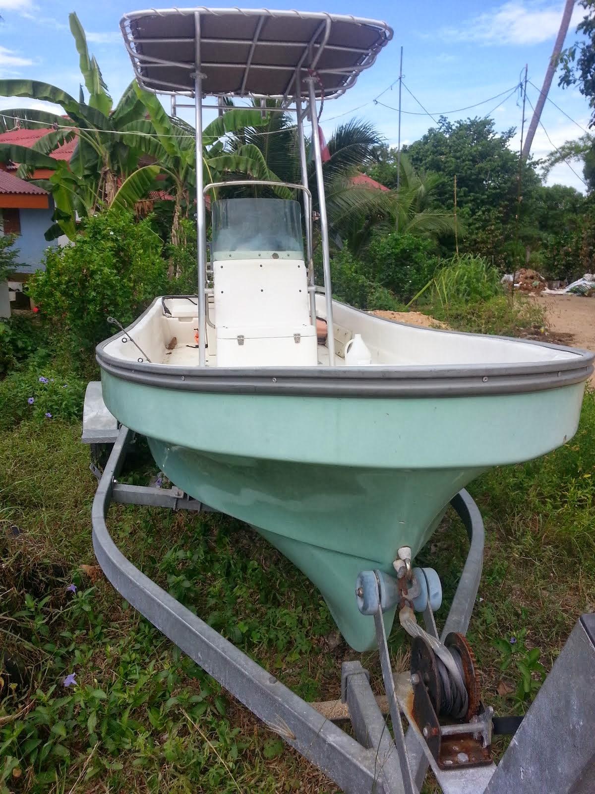 ขายเรือ สำหรับตกปลาหรือไปท่องเทียว