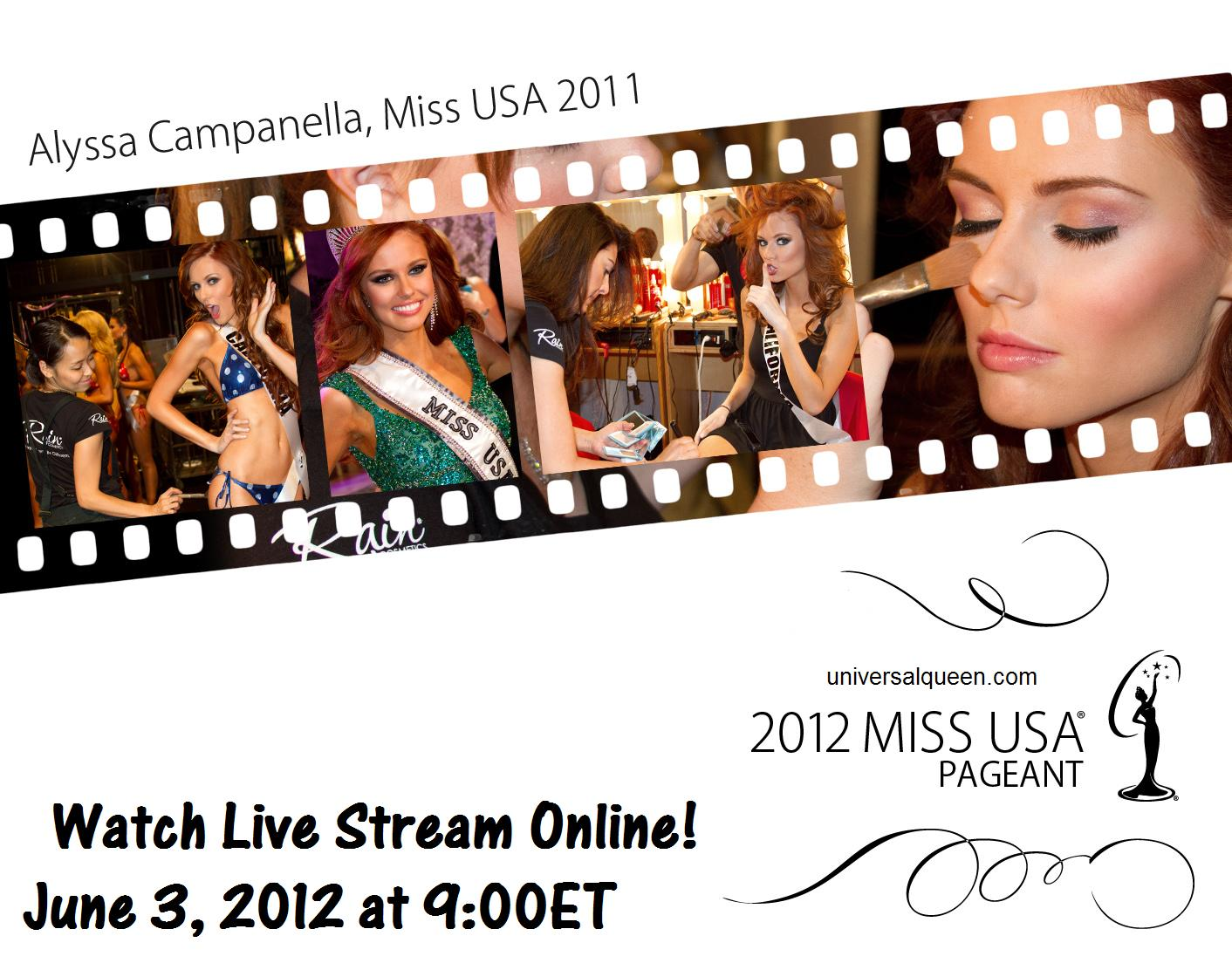 Watch Miss USA 2012 Finals Coronation Night Live Stream Streaming Online