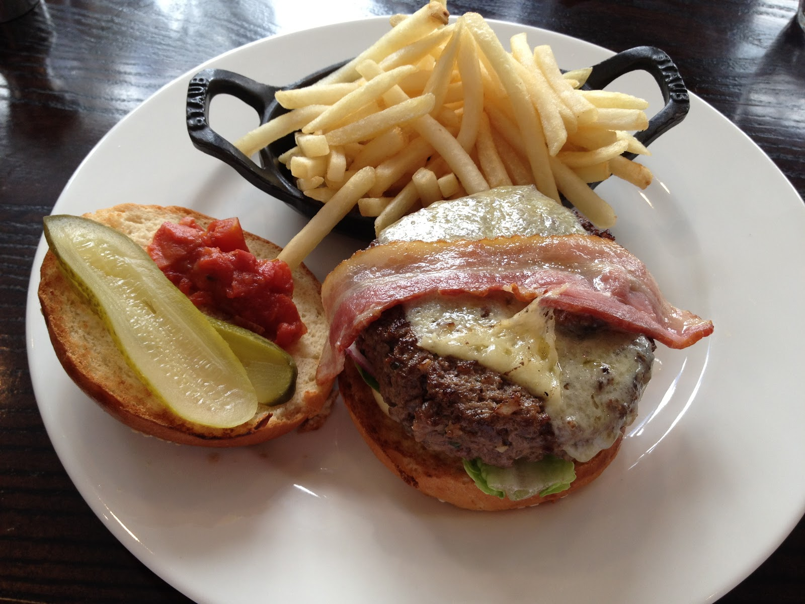 the burger addict burger blog: chiswell street dining rooms, ec1