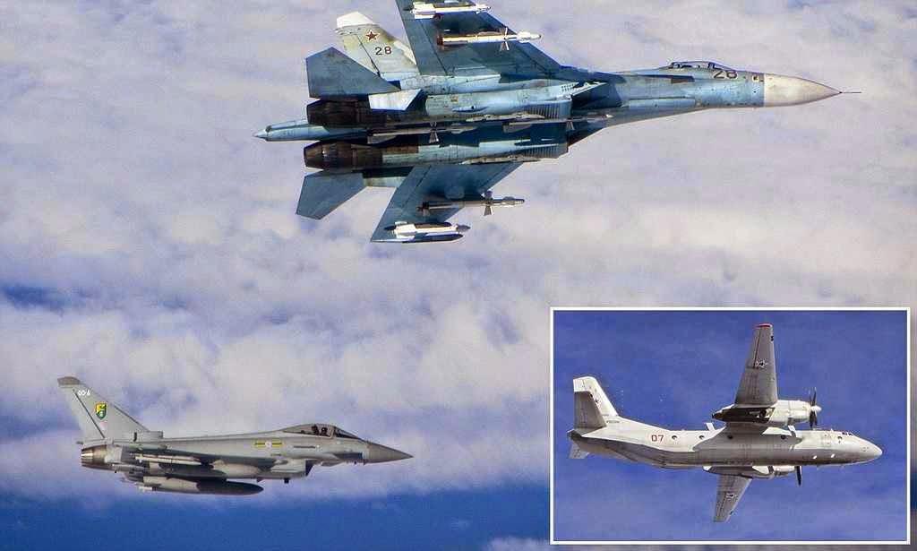 Jatos britânicos e russos em tensas manobras sobre o Báltico