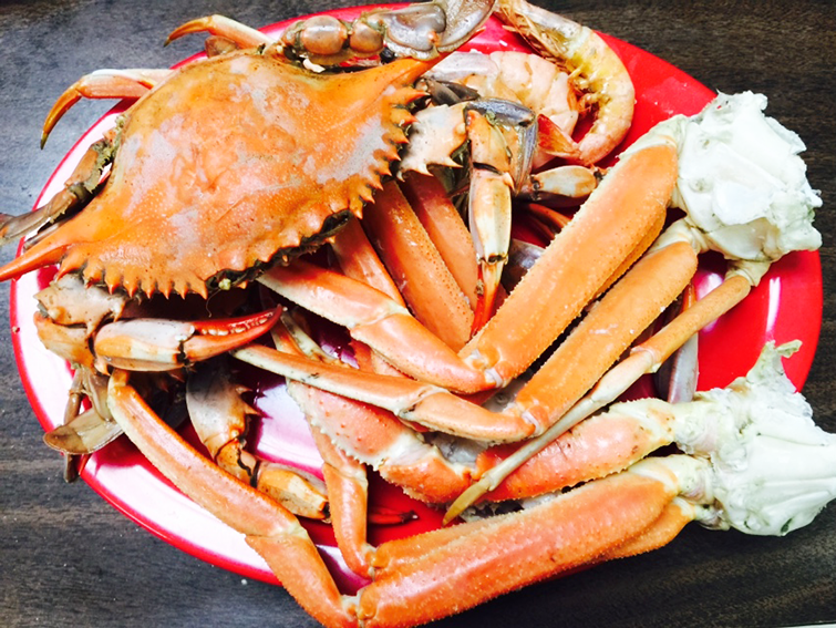 louisiana boiled blue crabs