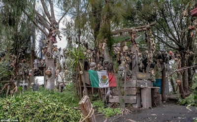 Misteri Dibalik Pulau Boneka Meksiko yang Menyeramkan