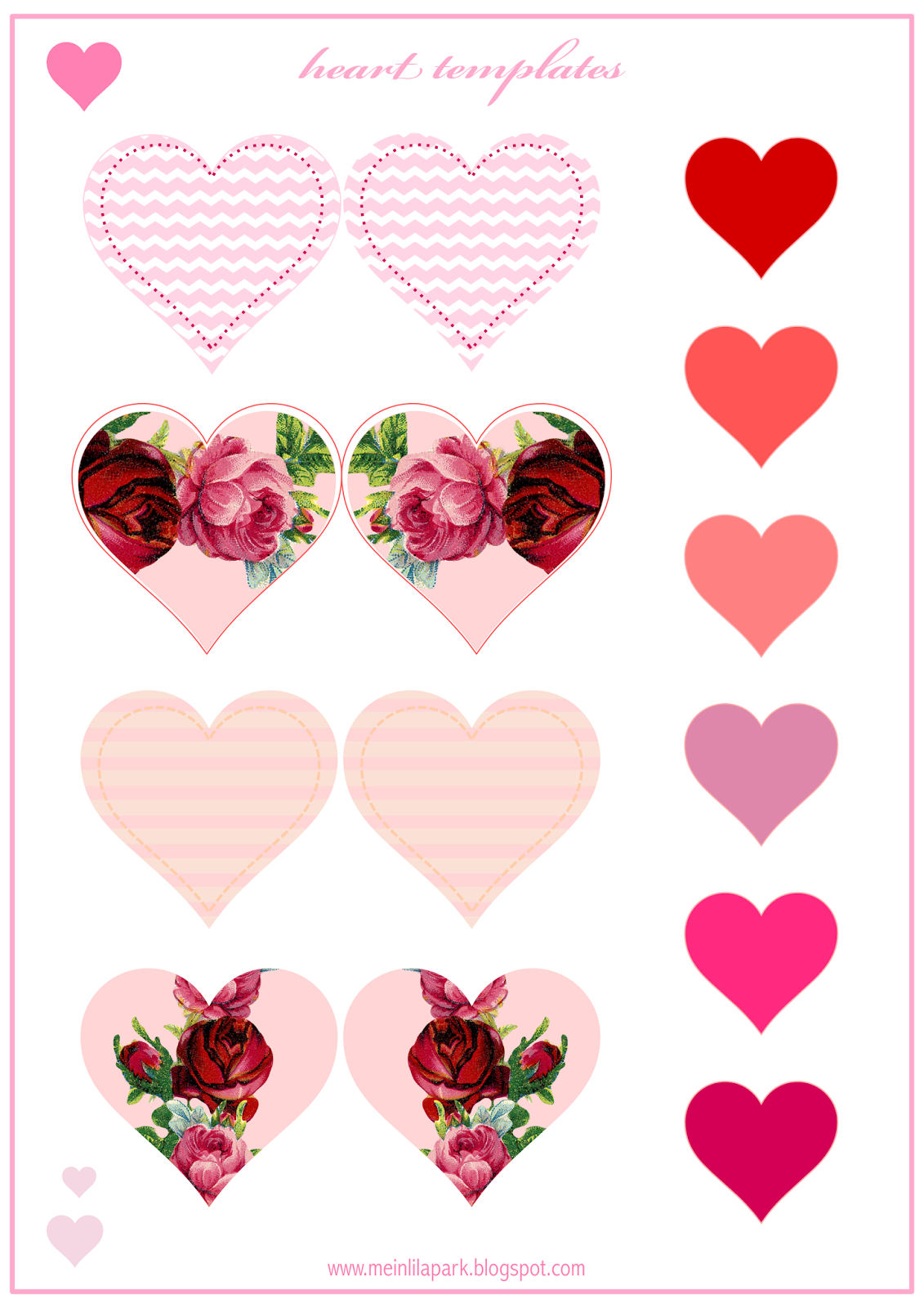 This is a photo of Exceptional Valentine Template Printable
