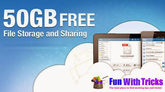 Get 50 GB cloud storage for free