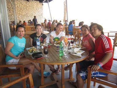 Wadi Adventure lunch