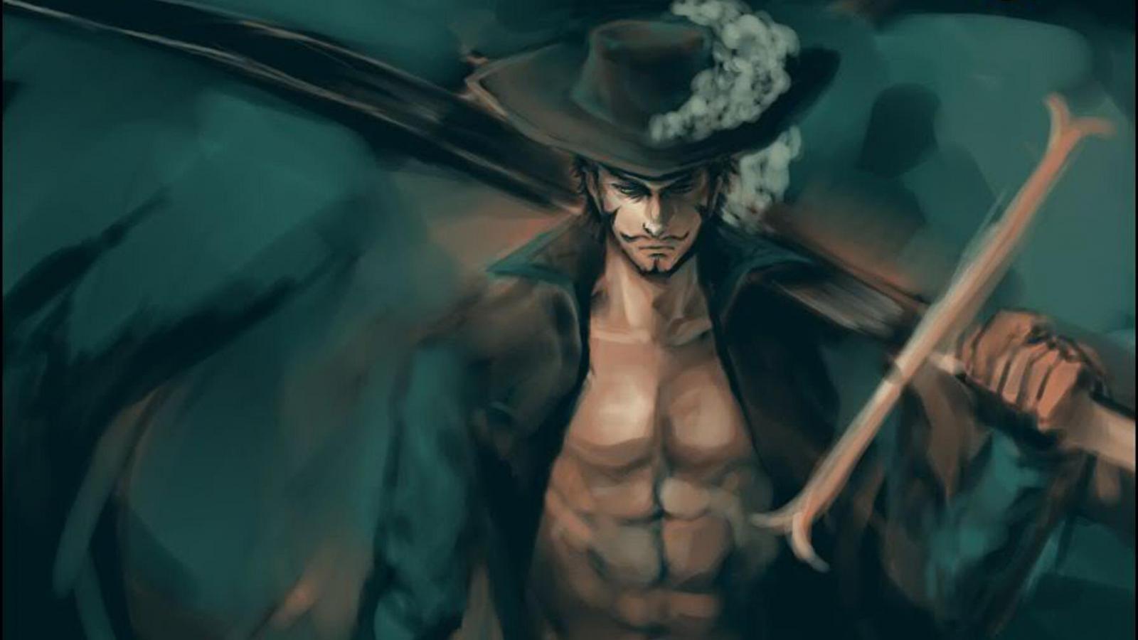 dracule mihawk your daily anime wallpaper and fan art