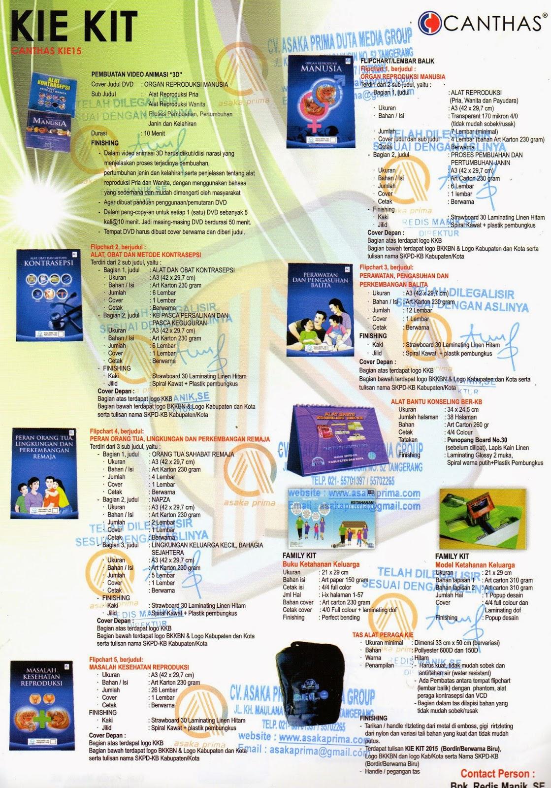 ,Kie Kit BKKBN 2015 - Alat Kesehatan,Pengadaan KIE Kit PEKERJAAN - LPSE Kabupaten,KIE Kit ,Kie Kit